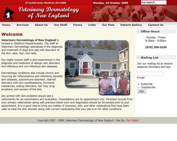 Veterinary Dermatology of New England