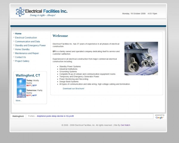 Electrical Facilities, Inc.